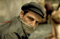 In <i>Son of Saul</i>, a Jew in Auschwitz readies his fellow prisoners for the gas chamber