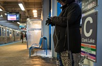 How to charge your cell phone on the CTA