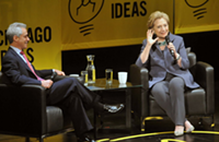 Hillary Clinton avoids Rahm Emanuel, and other Chicago news