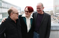 Early-80s techno-pop trio Scarlet Architect play their first hometown show in 33 years