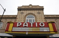 Patio Theater lights up its silver screen again
