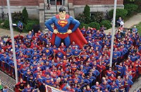"Adventures await in Metropolis, Illinois, the official ""Home of Superman"""
