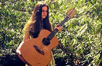 Sarah Louise paints pictures of nature with her 12-string guitar