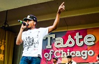 Photos of Chance the Rapper, Donnie Trumpet, and the Roots at Taste of Chicago