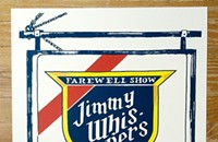Jimmy Whispers goes with Old Style on the gig poster of the week