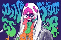 J Mascis gets goopy on the gig poster of the week