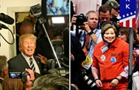 How can journalists report with balance on an unbalanced candidate?