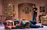 <i>Parachute Men</i>, <i>You on the Moors Now</i>, and eight more new theater reviews