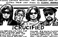 Chicago protopunks the Crucified released a notorious EP in 1977