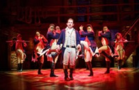 Man arrested at <i>Hamilton</i> performance after alleged pro-Trump rant, and other Chicago news