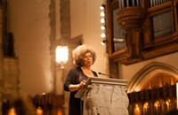 Watch Angela Davis's entire postelection lecture at the University of Chicago's Rockefeller Chapel