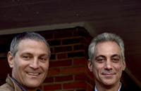 What Ari Emanuel's unabashed volatility in Hollywood says about Rahm Emanuel's public-image problem in Chicago