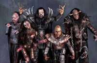 With their love of horror, hard rock, and monster costumes, Finland's Lordi are a Valentine's miracle