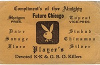 The printed relics of Chicago's predigital gangland