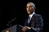 Obama is making his return to public life with a speech at the University of Chicago Monday, and other news