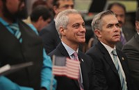 Emanuel launches new climate change section on city website using information deleted from EPA, and other Chicago news