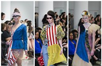 'Schizo' outfits stole the show on the SAIC runway