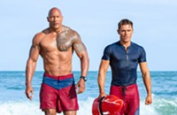 Zac Efron's performance is one of the only reasons to see <i>Baywatch</i>