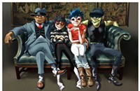 Cartoon supergroup Gorillaz roll through Chicago with their overstuffed <i>Humanz</i> in tow