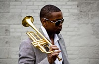 """With his clever genre blending, trumpeter Maurice """"Mobetta"""" Brown is a natural foil for hip-hop great Talib Kweli"""