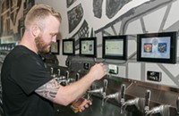 At pour-your-own-beer bars, nothing but technology stands between you and your beer