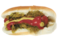 A hot dog with ketchup is delicious—even in Chicago