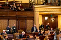 Illinois senate overrides Rauner's amendatory veto of the school funding bill, and other news