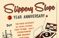 Skee-Balling at Slippery Slope on the gig poster of the week