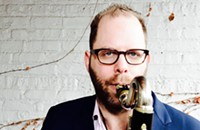 Chicago bass clarinetist Jason Stein isn't kidding around