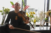 Jazz violinist Sam Bardfeld captures New York's musical sprawl on his new trio album
