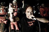 """Comedic punk-metal band Green Jellÿ are still looking for new ways to be the """"worst band in the world"""""""