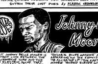 Underappreciated guitarist Johnny B. Moore links Delta blues with the electric postwar Chicago sound