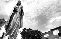 From the archive: The man who built a 33-foot-tall metal Madonna