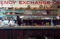 Lamar Moore takes the kitchen at the Currency Exchange Café