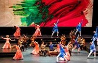 Mark Morris's <em>Layla and Majnun</em> gives a modern dance spin to a classic Arabian love story