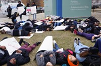 Fed up with gun violence, students demand 'real change . . . today'