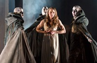 Aaron Posner and Teller's <i>Macbeth</i> is no <i>Tempest</i>