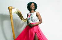 Brandee Younger picks up the torch of jazz harp pioneers for the hip-hop generation