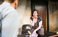 A playwright's attack on her own character amounts to <i>Empty Threats</i>