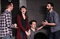 The two improv teams in <em>Oh Hell Yeah</em> demonstrate that timing is everything