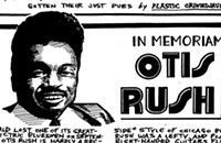 Otis Rush and his searing guitar immortalized the west-side Chicago blues sound