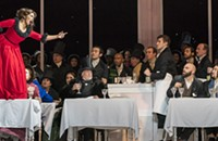 Lyric's <i>La Boh&egrave;me</i> has its flaws, but Puccini's score overcomes most of them