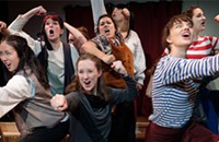 Sometimes the cast of the Cuckoo's Theatre Project's <i>Moby Dick! The Musical</i> hits the right campy notes
