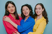 The three hilarious women of <i>It's a Guy Thing</i> bring their act to the Tomorrow Never Knows festival
