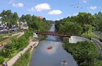 The bridge that Berny wouldn't let CDOT build is finally coming to life