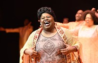 <i>Mahalia Jackson: Moving Thru the Light</i> sticks to the Black Ensemble Theatre formula