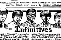 The Infinitives' only release is among the most collectible records in garage rock