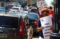 City Colleges teachers protest cutbacks in the adult education program