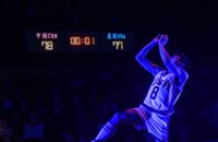 A Chinese American basketball player is lost in Tiananmen Square in <i>The Great Leap</i>