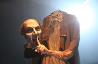 <i>The Silence in Harrow House</i> offers a hybrid of silent play and haunted house